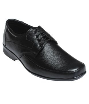 K.c Anand Traders Black Formal Shoes