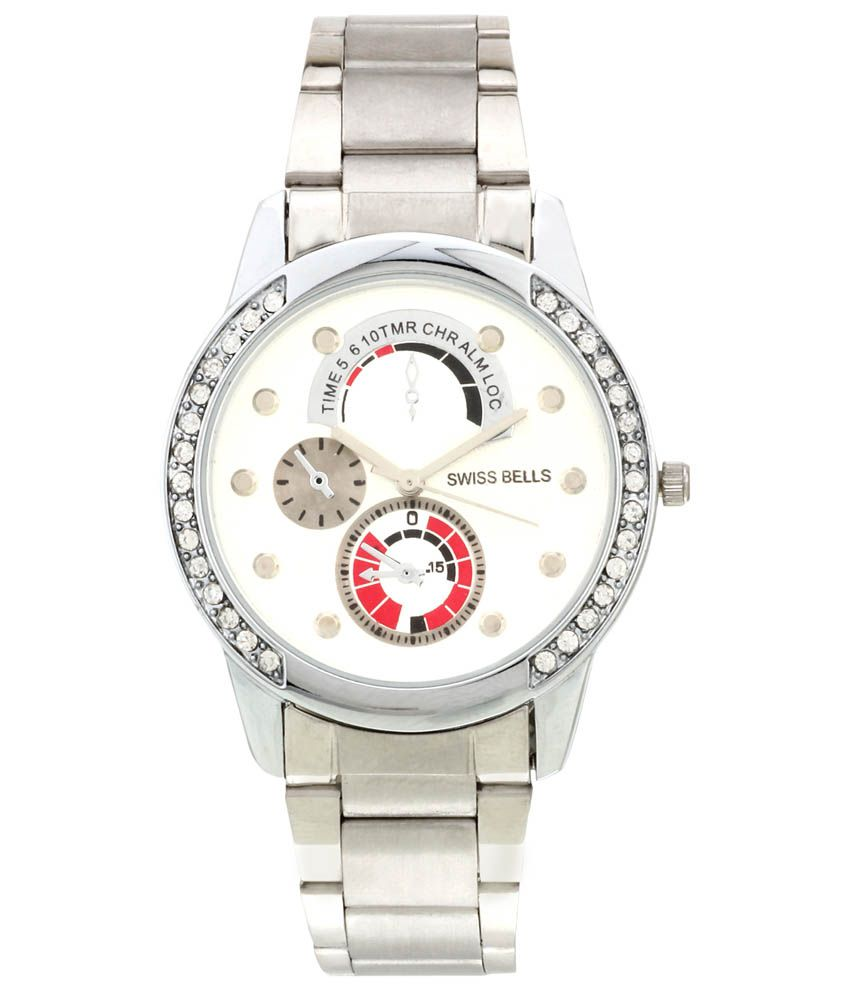 Svviss Bells Svviss Bells Silver Casual Watch