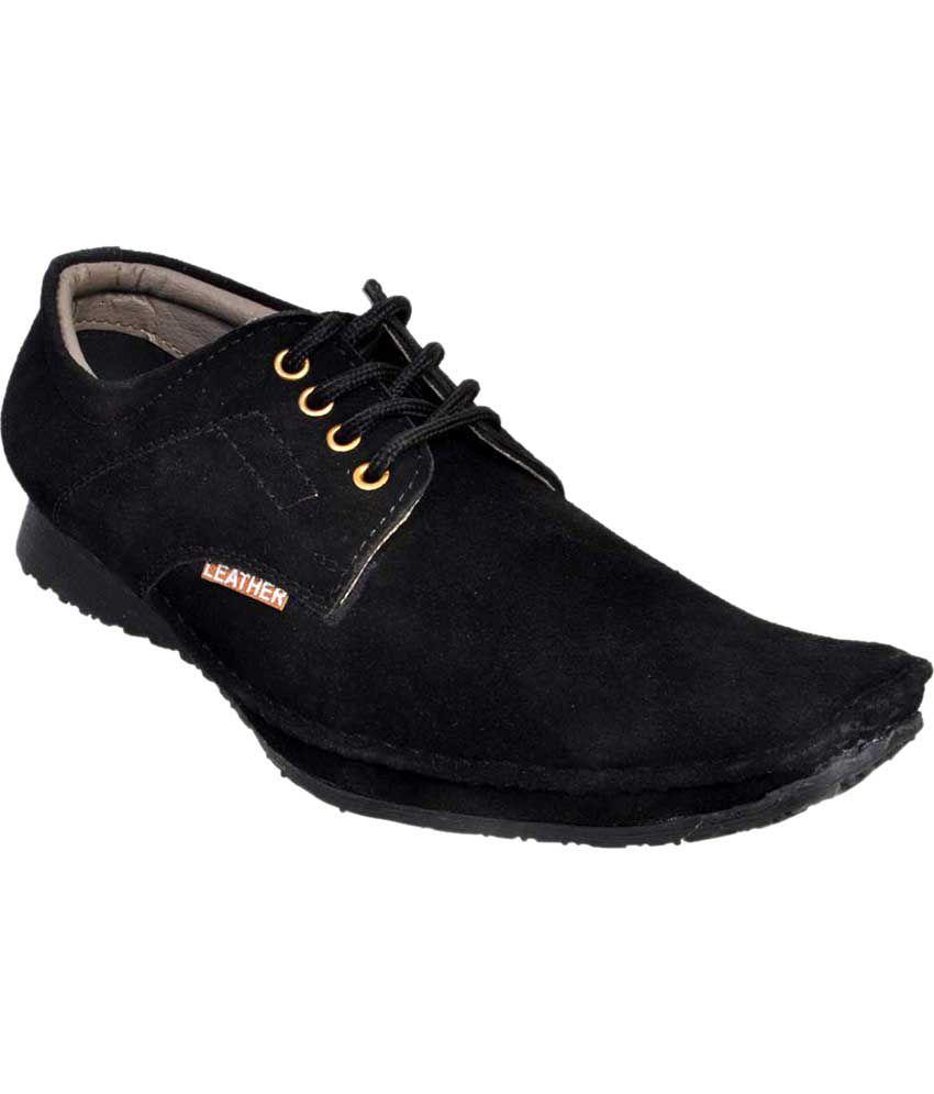 Fescon Black Casual Shoes Price in India- Buy Fescon Black ...