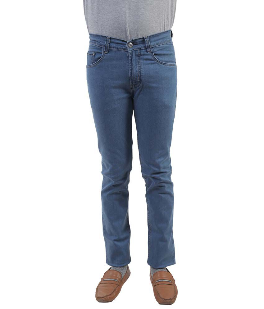 Lee Marc Blue Regular Fit Jeans