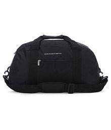 United Colors of Benetton Black Travel Duffle Bag