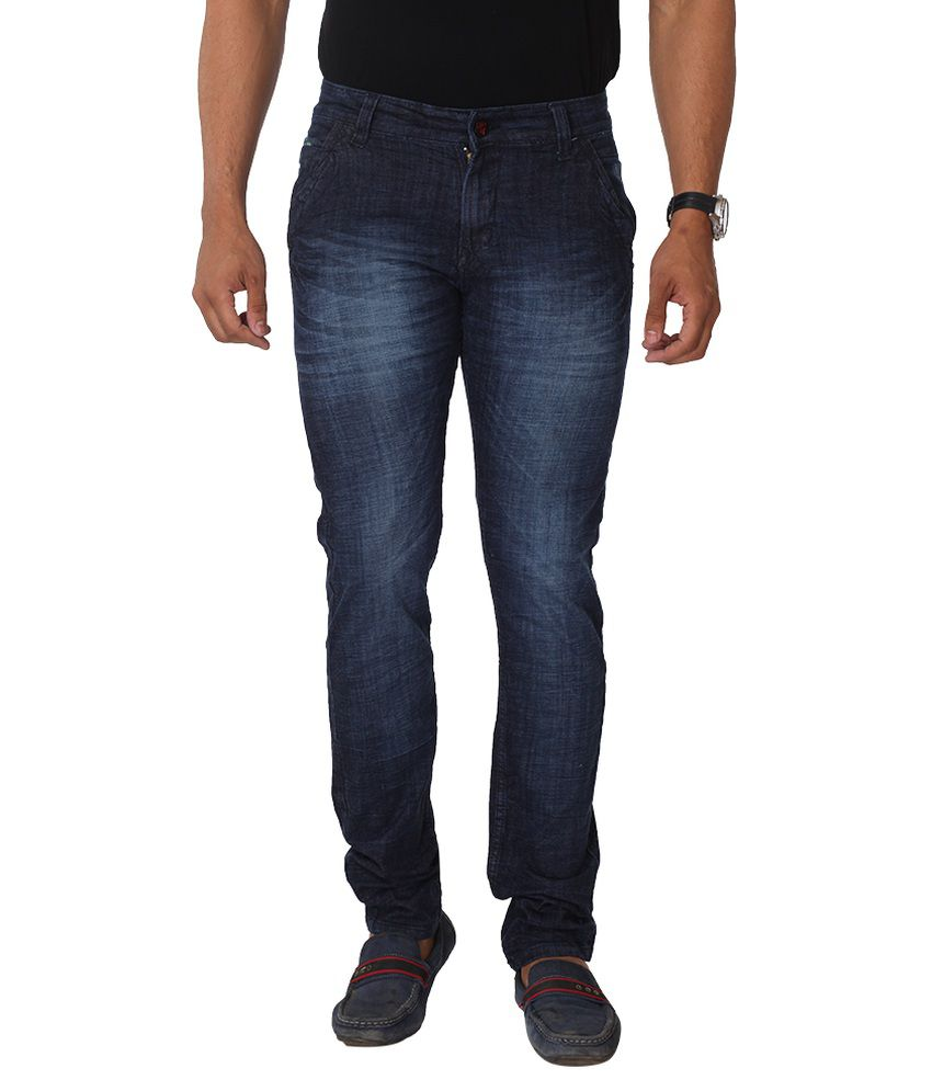 Hi-wok69 Blue Slim Fit Jeans Pack Of 2