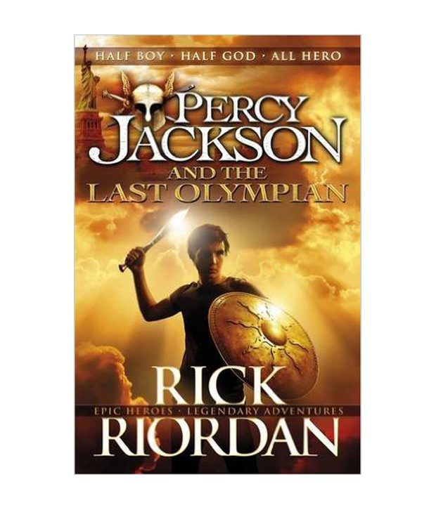 Percy Jackson and The Last Olympian Paperback (English): Buy Percy ...