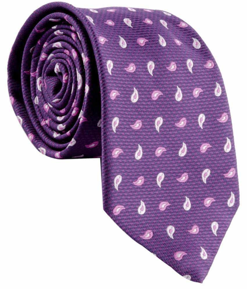 Cazzano Purple Micro Fiber Formal Ties