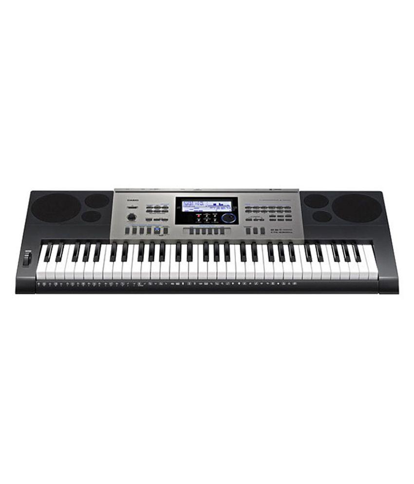 Casio High Grade Keyboard Ctk-6300in - Black