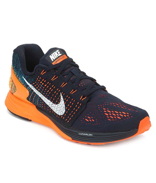 online retailer dcbf1 e4c56 Nike Lunarglide 7 Mesh Running Shoes - Buy Nike Lunarglide 7 Mesh Running  Shoes Online at Best Prices in India on Snapdeal