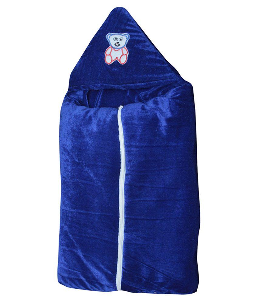 Stylestopper Blue Polyester Sleeping Bag For Boys And Girls