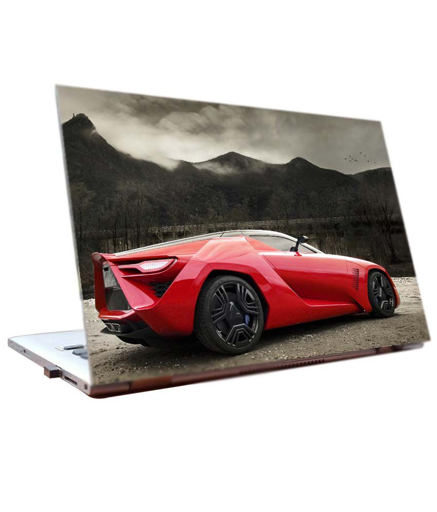 Junkyard Lamborghini Sports Car Cars Laptop Skin