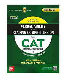 How to Prepare for Verbal Ability and Reading Comprehension for the CAT Paperback (English) 2015
