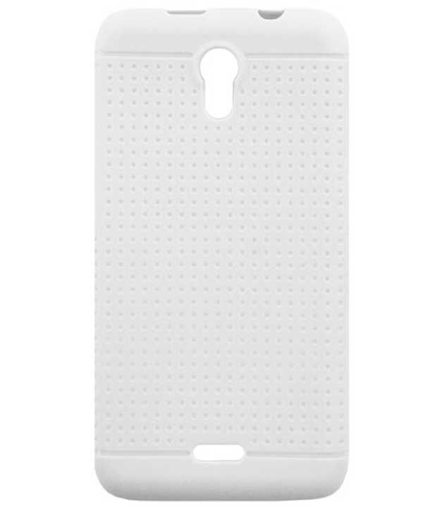 new style 7fd55 f7b13 Acm-Soft Silicon Back Case For Micromax A106 Cover-White Dotted Designer