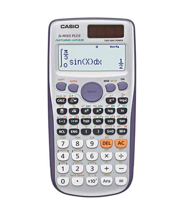 Casio) scientific calculator (fx-991esplus): amazon. Ca: office.