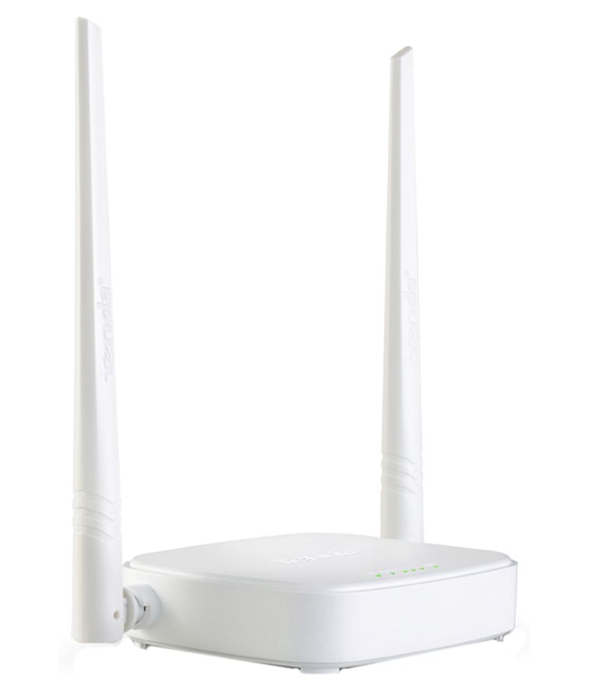 Tenda N301 300 Mbps Wireless Router White