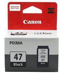 Canon PG 47 Black Ink Cartridge