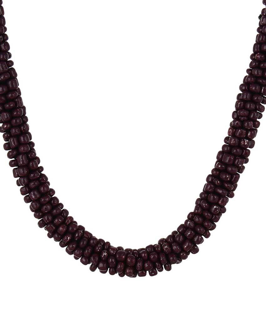 0e19d84511 Kliqvik Black Thread Necklace - Buy Kliqvik Black Thread Necklace ...
