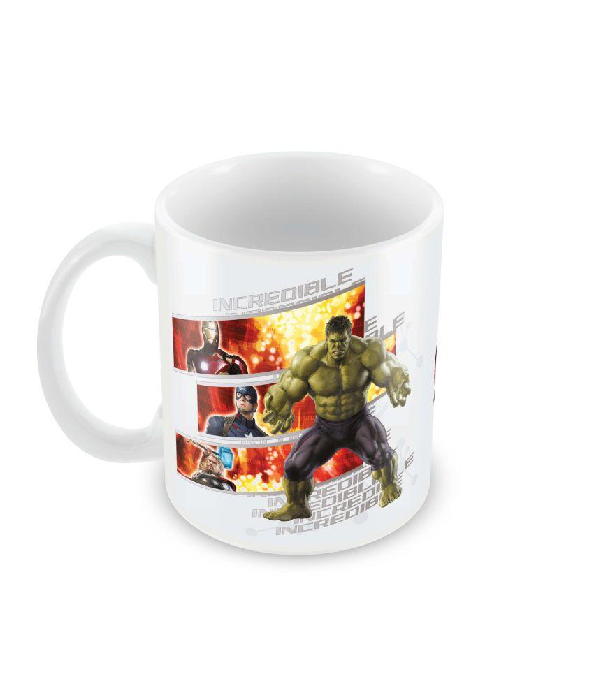 Marvel Incredible Hulk Avengers Officially Licensed Mug