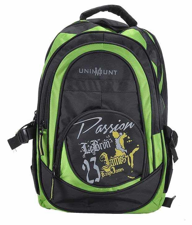 Unimount Green Laptop Bag