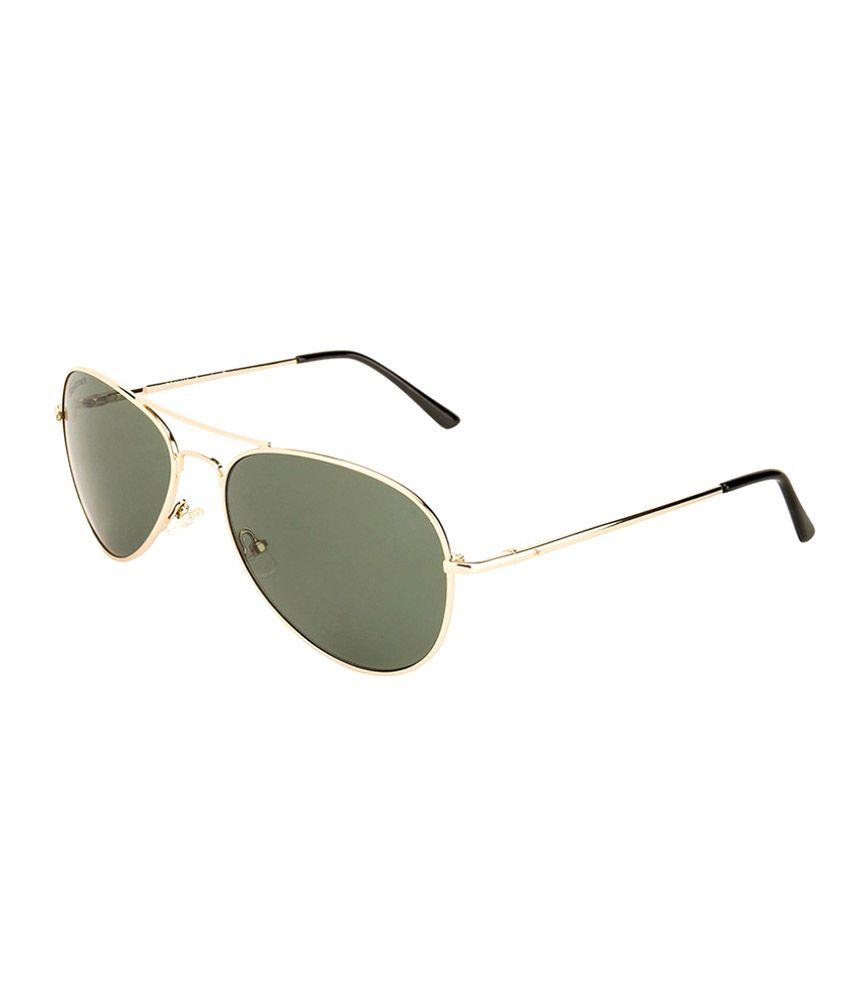8226262ddc83b Fastrack M140GR1 Green Medium Unisex Aviator Sunglasses - Buy Fastrack  M140GR1 Green Medium Unisex Aviator Sunglasses Online at Low Price -  Snapdeal