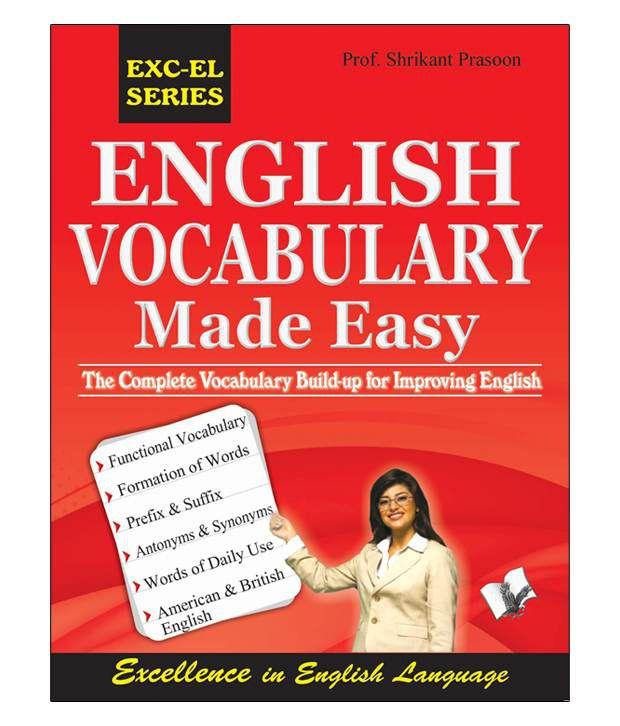 english vocabulary made easy buy english vocabulary made easy