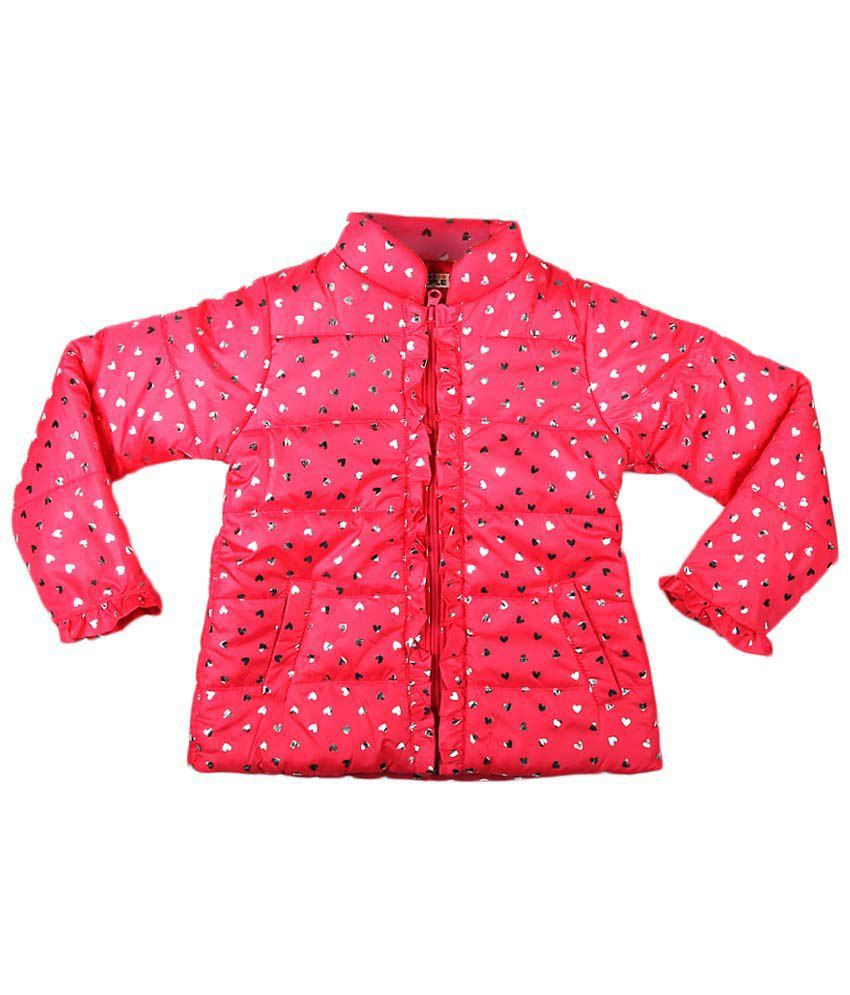 People Pink Full Sleeve Jacket