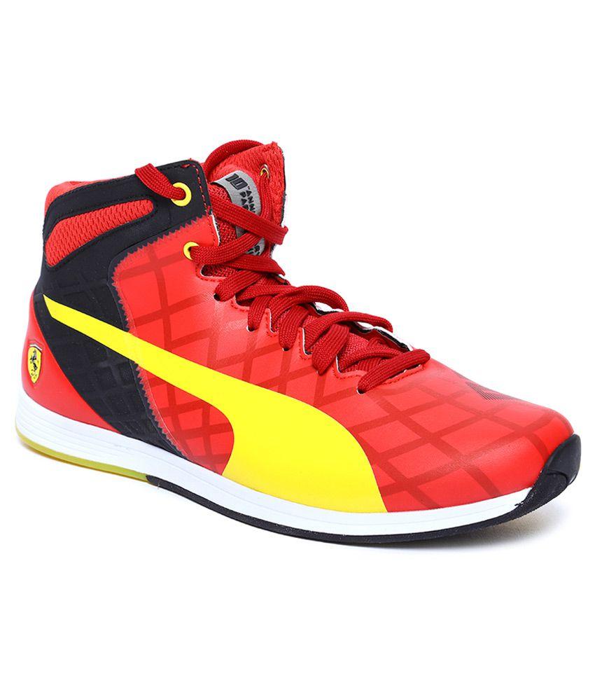 4b0036205ff Puma Ferrari Evospeed 1.4 Red Sneaker ... Puma evoSPEED Mid 1.4 Scuderia Ferrari  10 ...