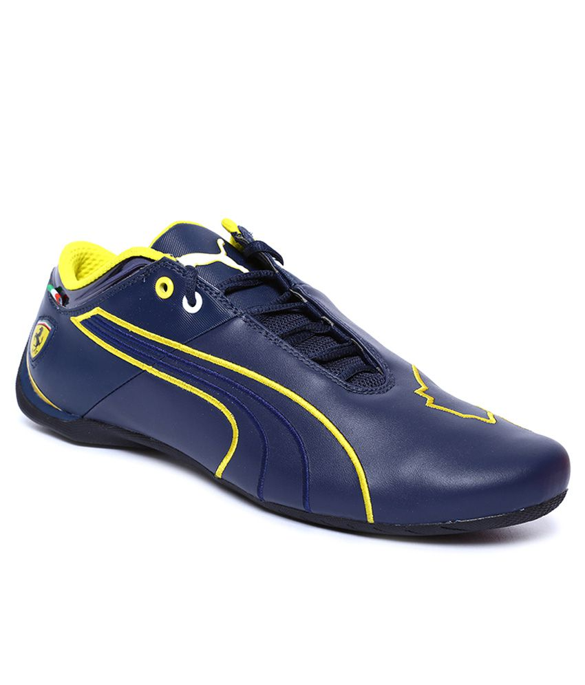 f0131e52cd8c Puma Ferrari Future Cat M1 Navy Sneaker Price in India- Buy Puma Ferrari  Future Cat M1 Navy Sneaker Online at Snapdeal