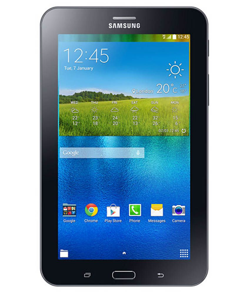 samsung sm t561 3g wifi 3g calling black   tablets