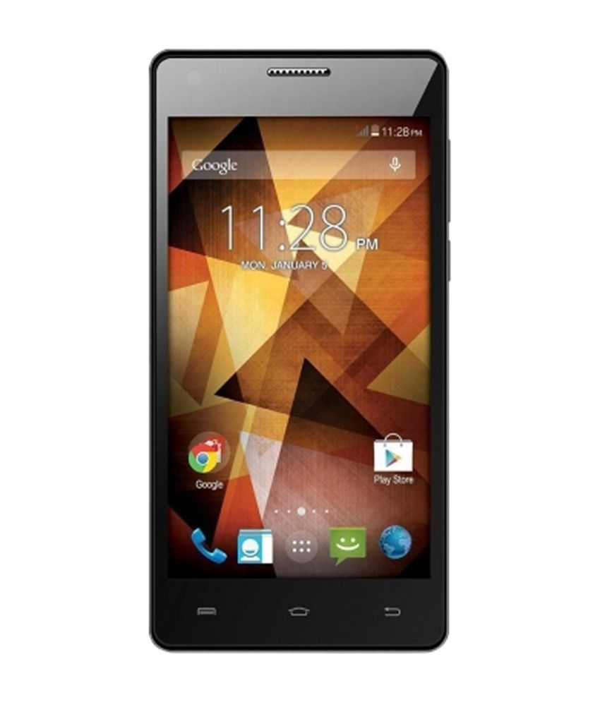 Spice 8 GB Xlife 511 Pro Smartphone - Black