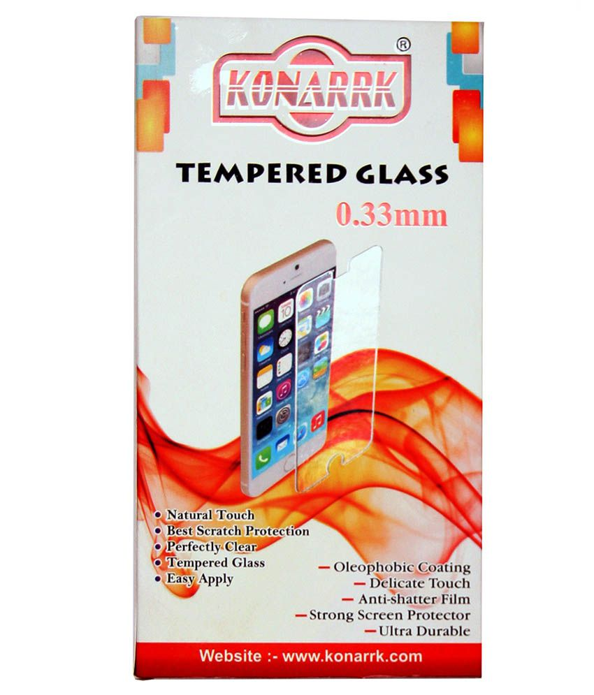 Micromax Q372 Tempered Glass Screen Guard by Konarrk