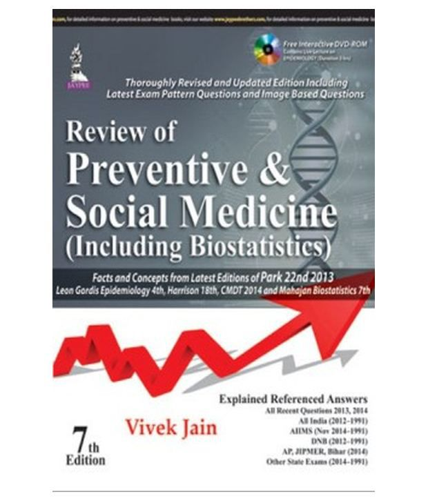 Review Of Preventive & Social Medicine (Including Biostatistics) (With Dvd)  7Th Edition