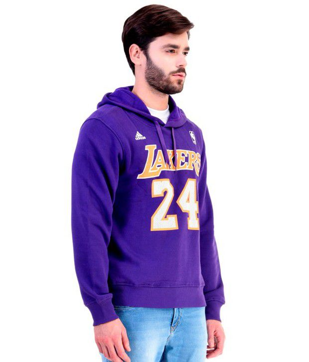 Adidas NBA Purple Lakers Sweatshirt - Buy Adidas NBA Purple Lakers ... 3bdcea285