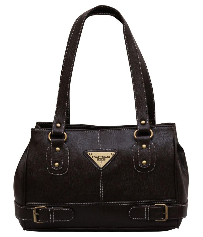 Fostelo Brown Shoulder Bag
