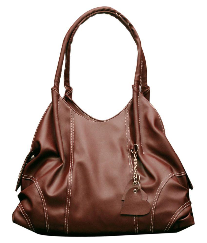 Fostelo Maroon Shoulder Bag