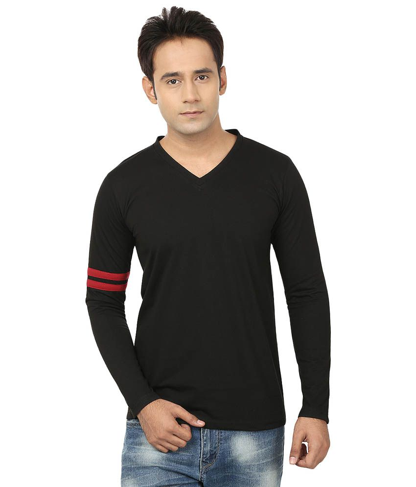 Jangoboy Black Cotton T-Shirt