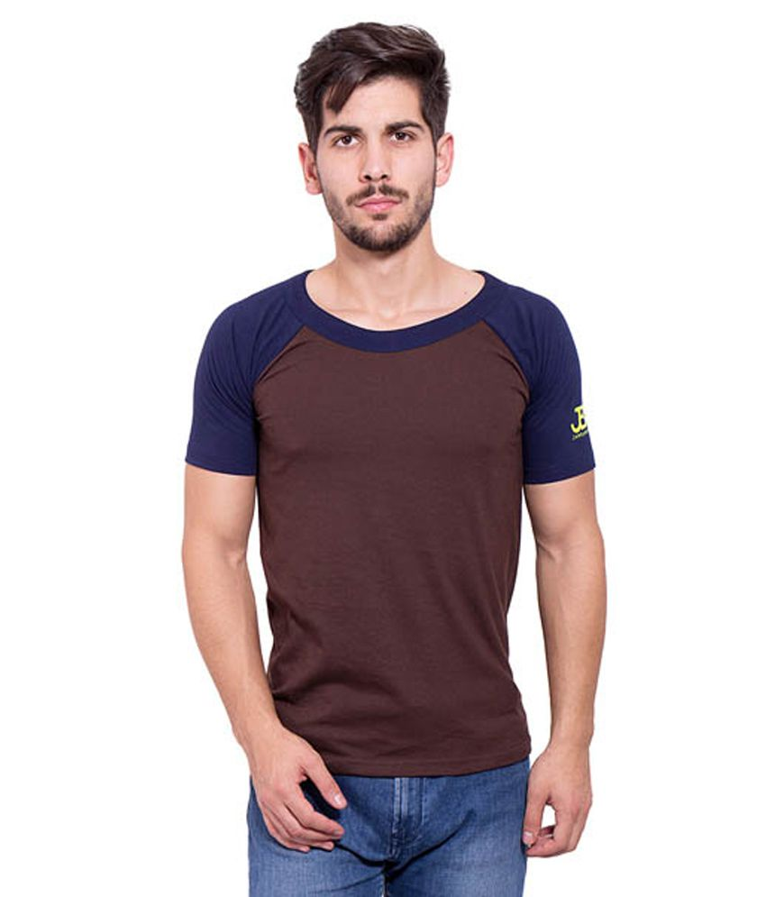 Jangoboy Brown Cotton T-Shirt