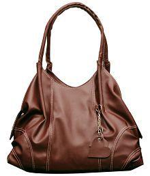 Fostelo Brown Designer Shoulder Bag