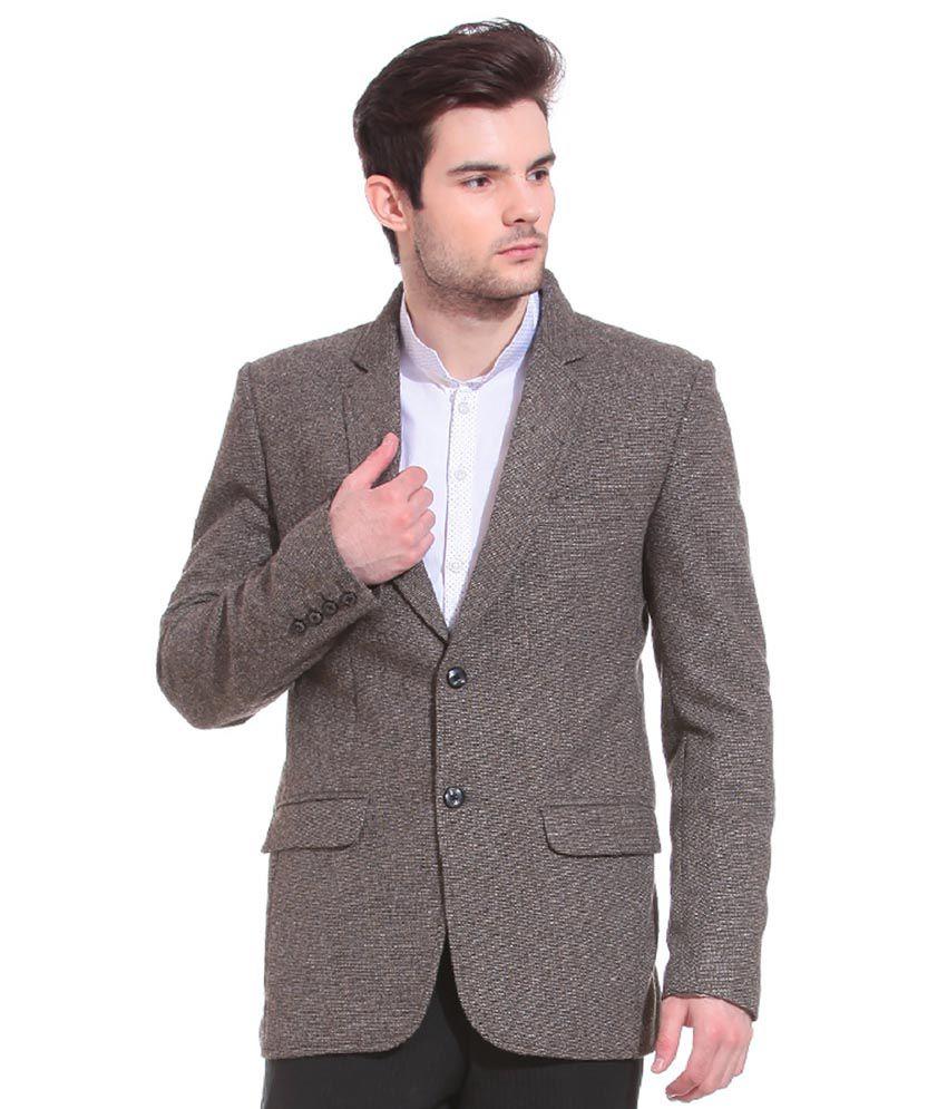 Tag 7 Grey Woolen Blazers