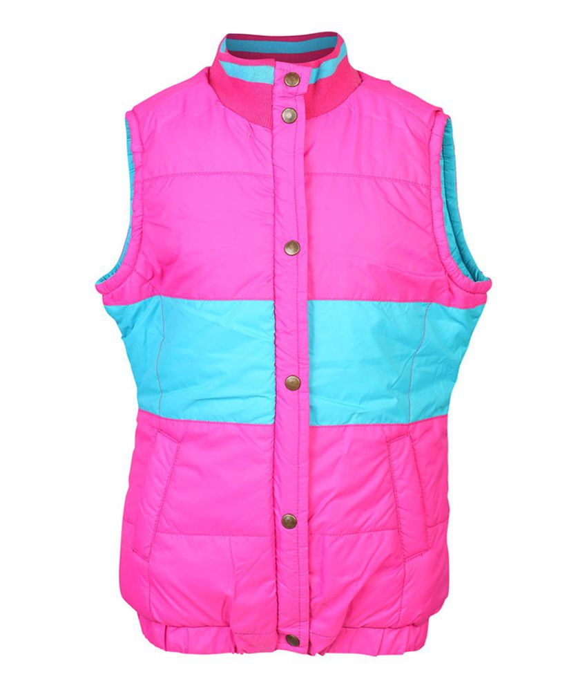 ELLO Multi Sleeveless Without Hood Jacket