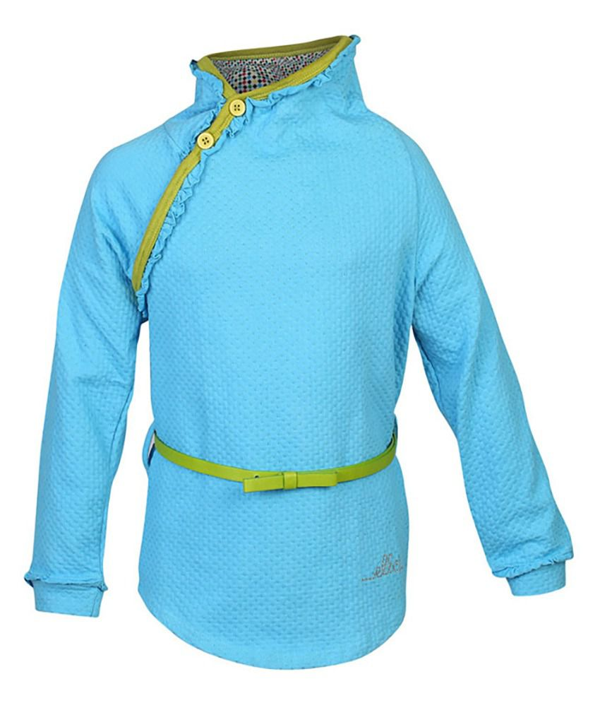 ELLO Turquoise Without Hood Sweatshirt