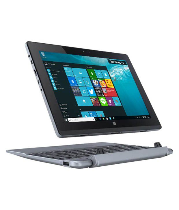 Acer One 10 S1002-15XR Tablet Laptop (2 in 1) (NT.G53SI.001) (Intel Atom- 2 GB RAM- 32 GB eMMC- 25.7 cm (10.1) Touch- Windows 10) (Dark Silver) By Snapdeal @ Rs.13,499