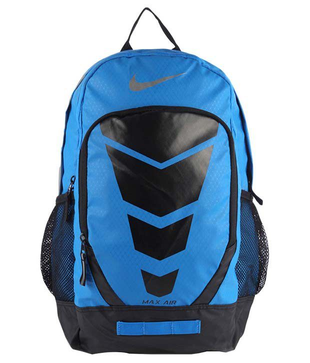 reputable site c2b27 e7212 Nike Max Air Blue And Black Backpack - Buy Nike Max Air Blue And Black  Backpack Online at Best Prices in India on Snapdeal