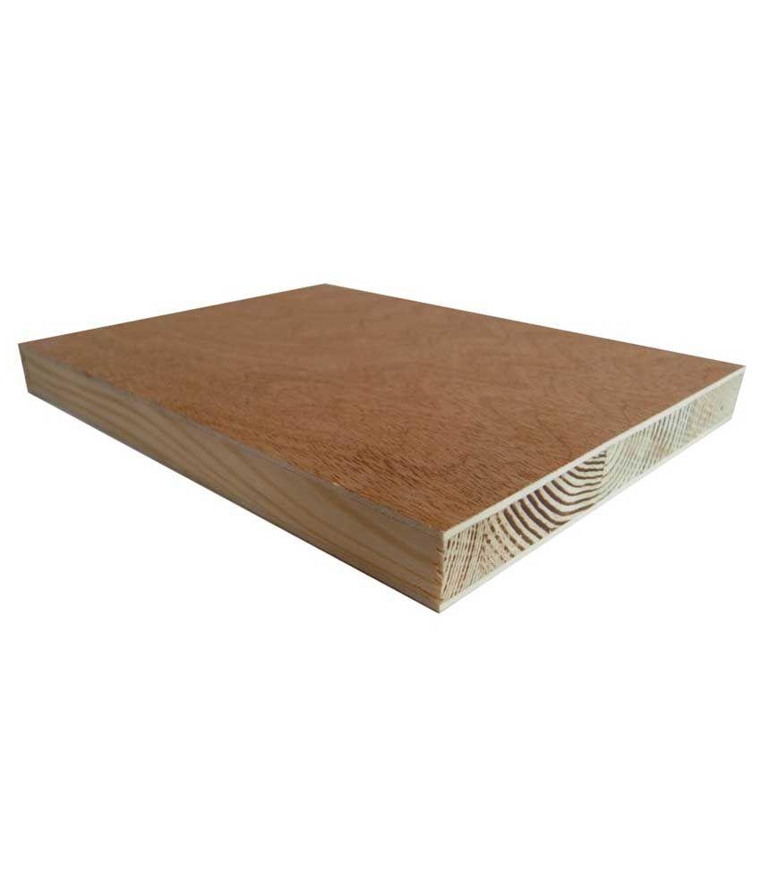 Buy bhagwati plywood traders brown wooden block board
