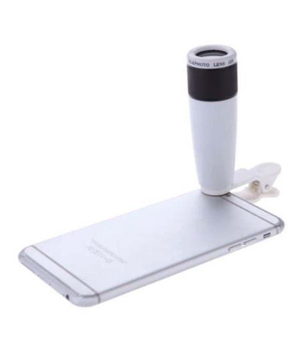 Chkokko Universal 12x Zoom Mobile Phone Telescope Camera Lens With Adjustable Holder