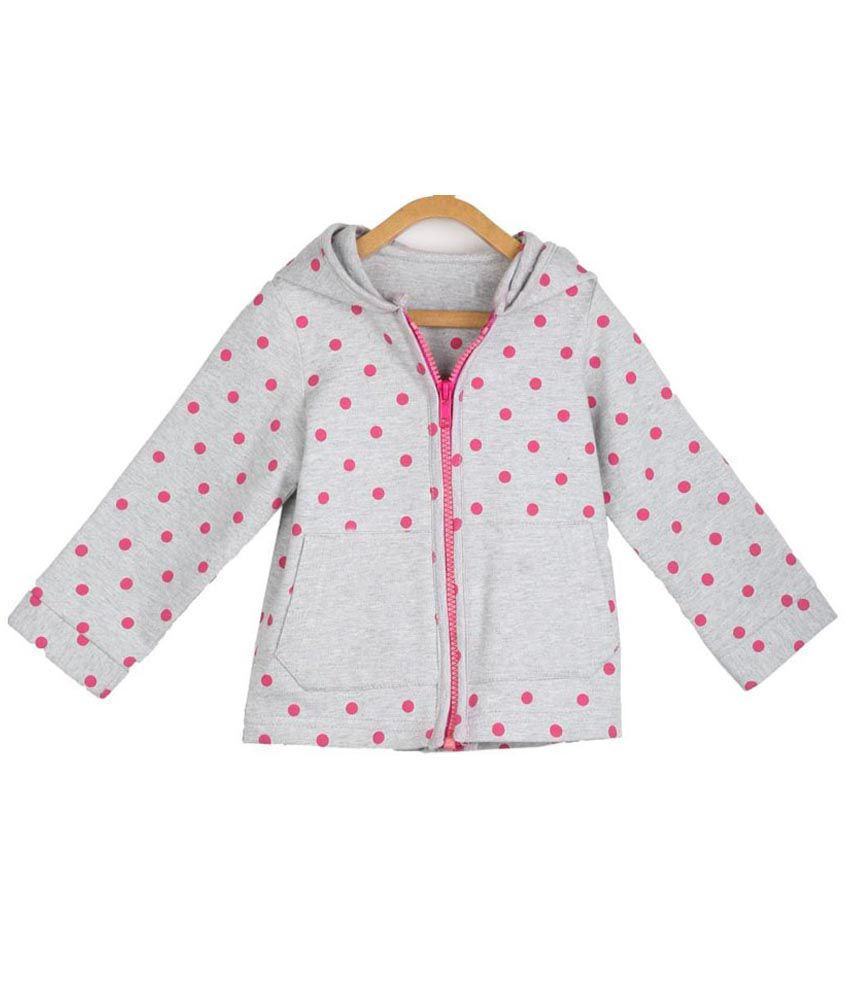 My Lil' Berry Gray Jacket For Girls