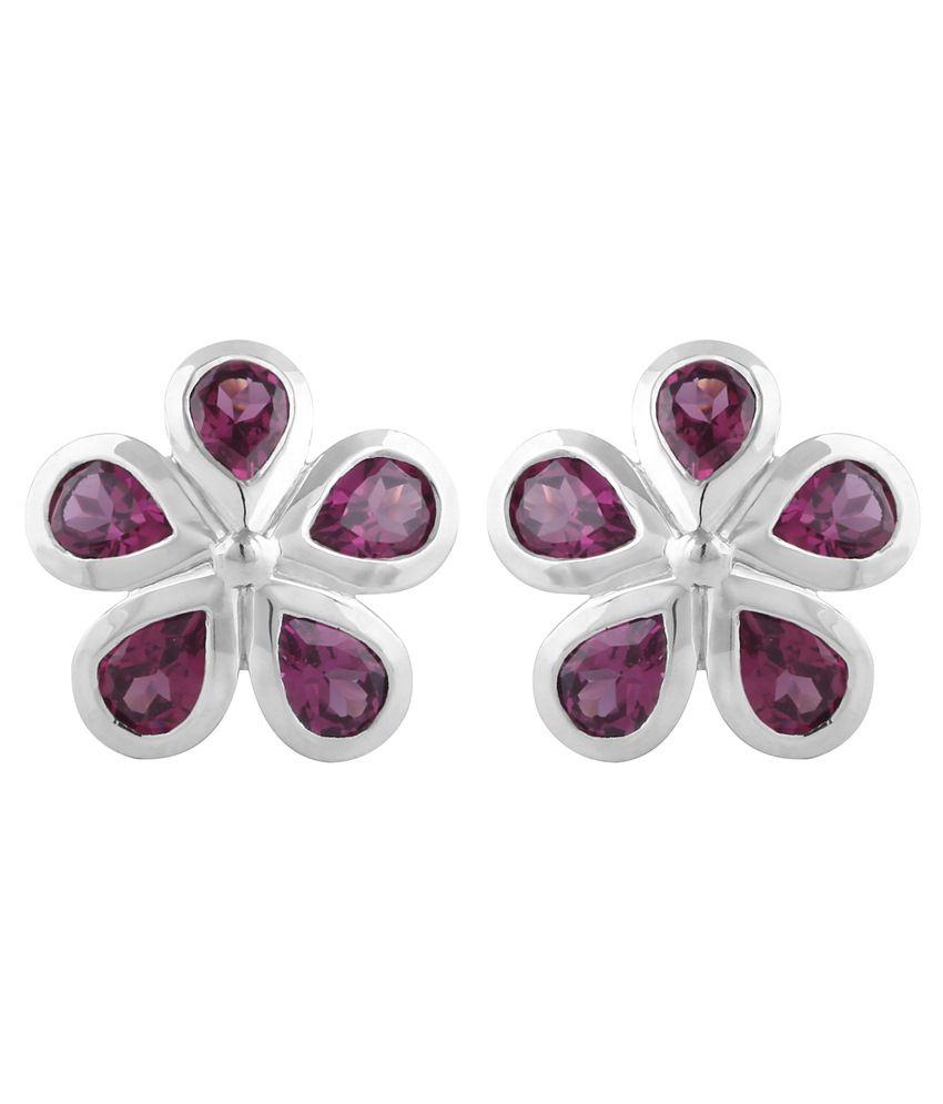 Allure Jewellery 92.5 Sterling Silver Stud Earrings