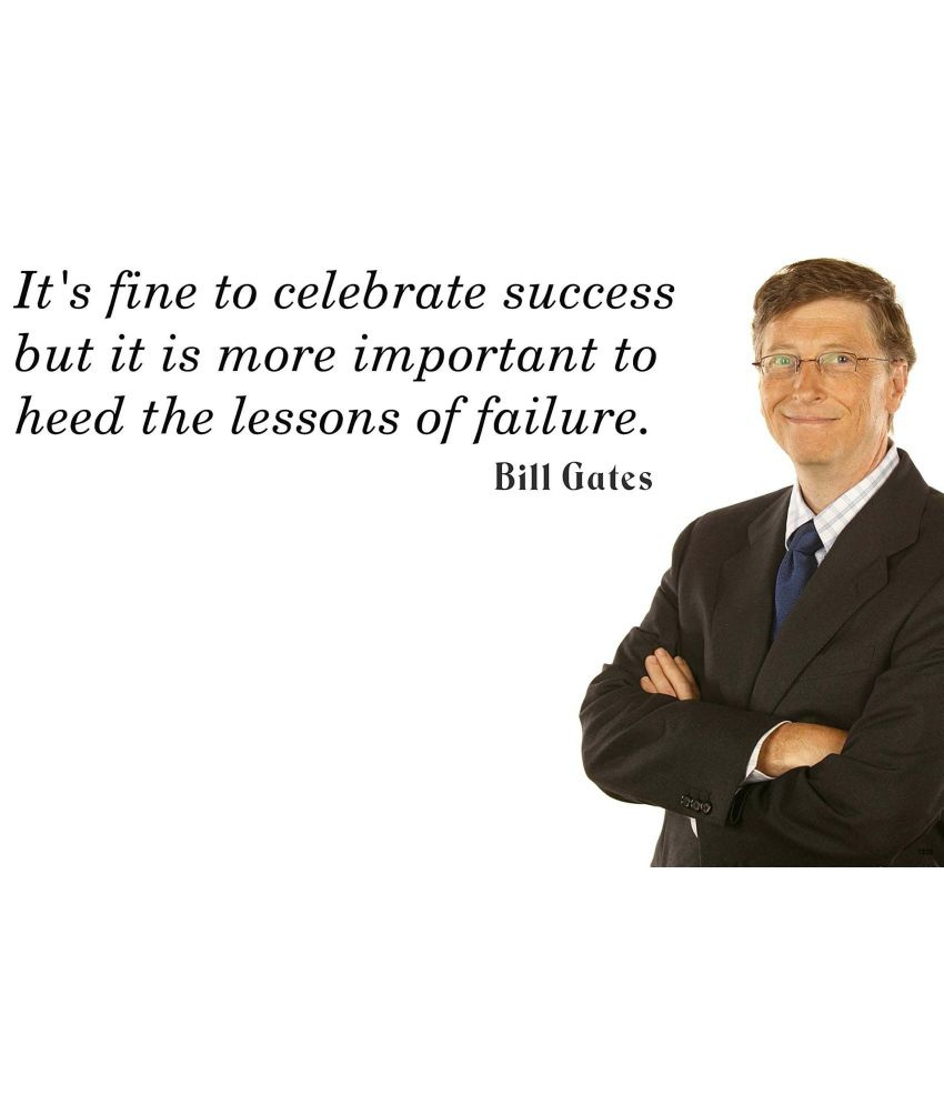 Hungover Bill Gates Quotes Poster
