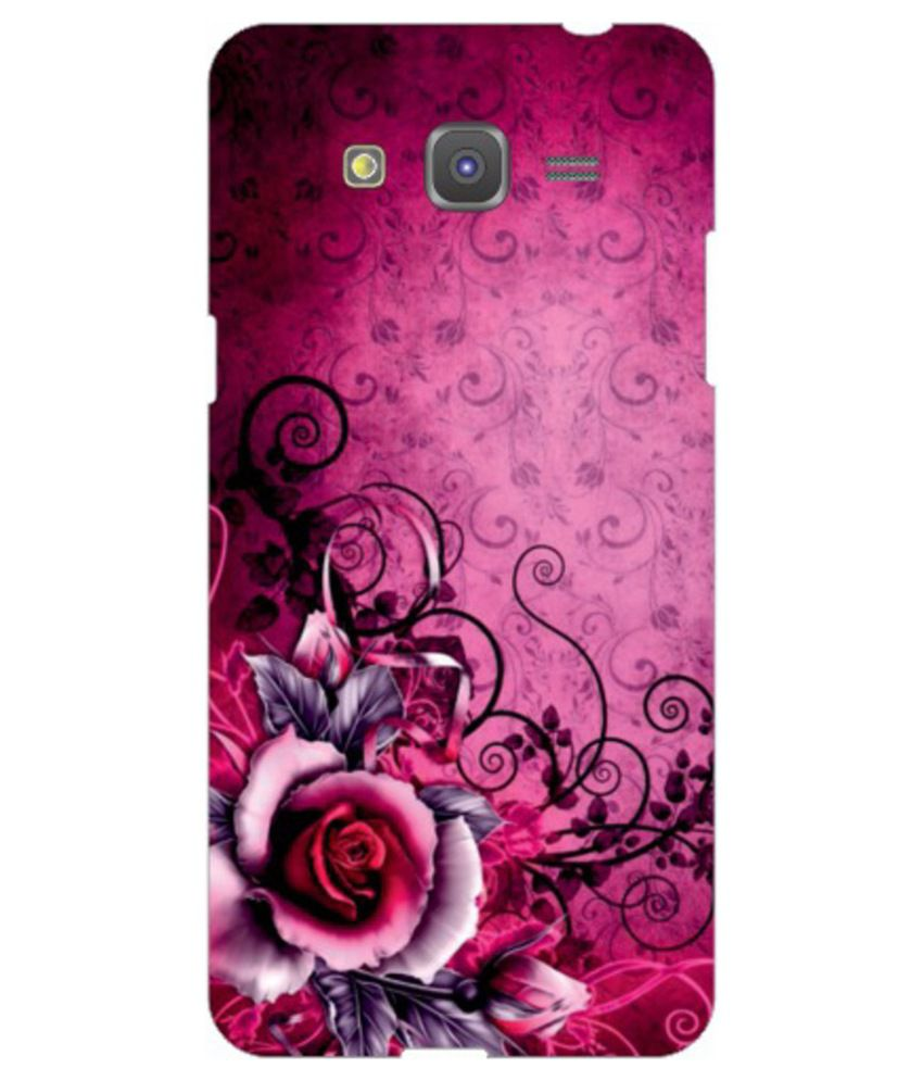 huge selection of 0ddbc 6184a Via Flowers Printed Back Cover For Samsung Galaxy Grand Prime Sm-g530h -  Multicolour