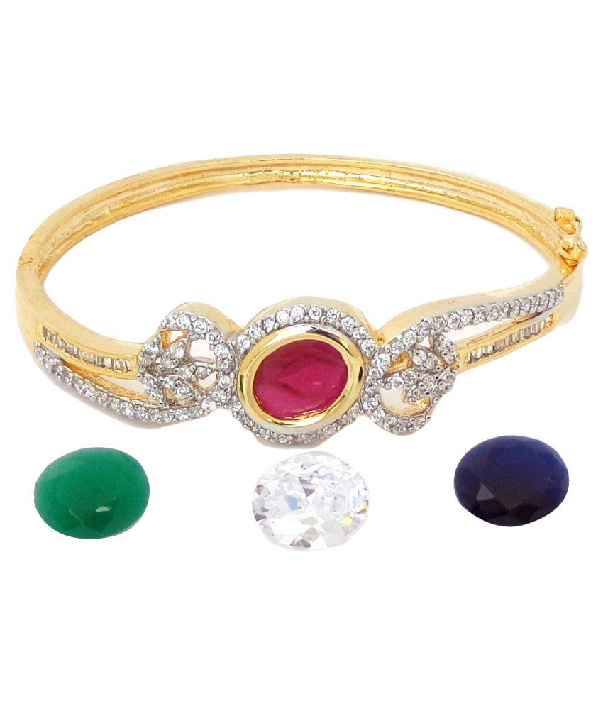 Nishugems Golden Bracelet