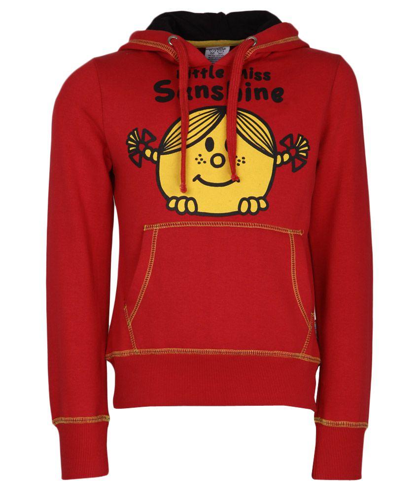 MMLM Red With Hood Sweatshirt