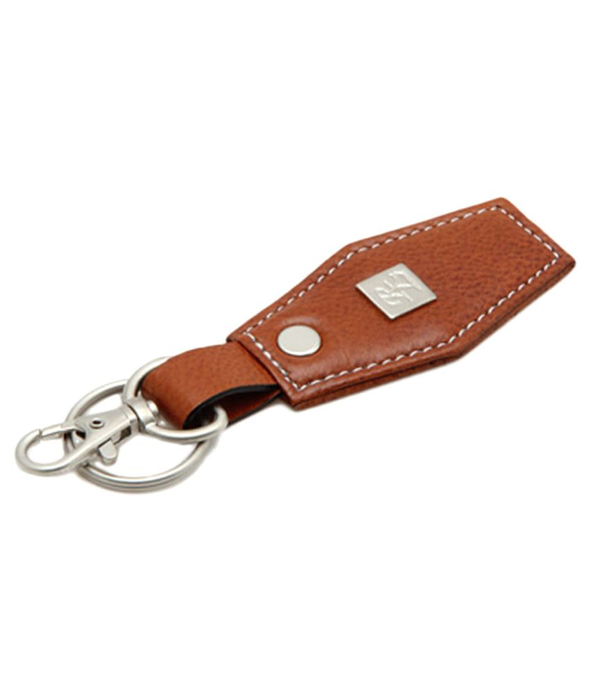 Walletsnbags Brown Leather Key Chain For Men: Buy Online ...