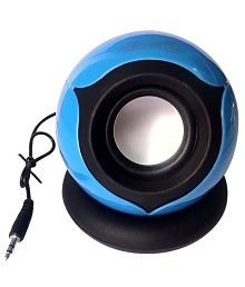 Hiper Song HS656 Rechargeable Portable Speaker For Laptop Tablet And Mobile - Blue